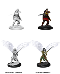 Aasimar Female Fighter - Dungeons & Dragons (Nolzur's Marvelous Miniatures) - Unpainted