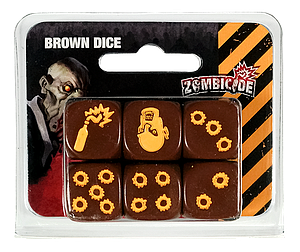 Zombicide Brown Dice