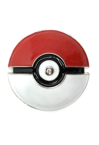 Pokeball Belt Buckle (Pokemon)