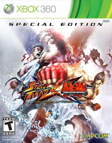 Street Fighter X - Tekken (Xbox 360) - SE