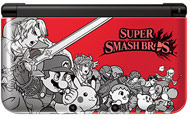 Nintendo 3DS XL System - Super Smash Bros Red