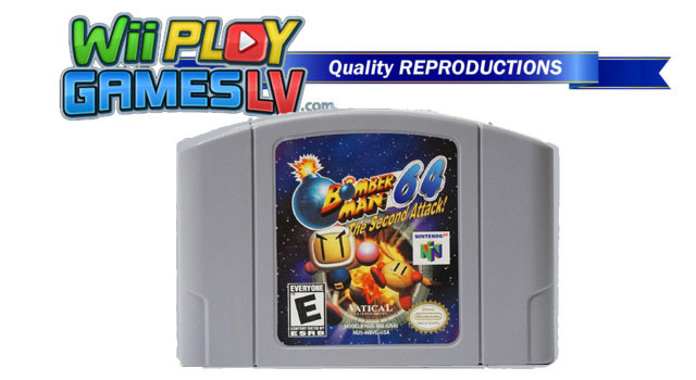 Bomberman 64 The 2nd Attack (Nintendo 64 REPRODUCTION)