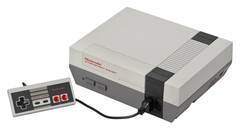 (NES) Nintendo Entertainment System/ 1 controller