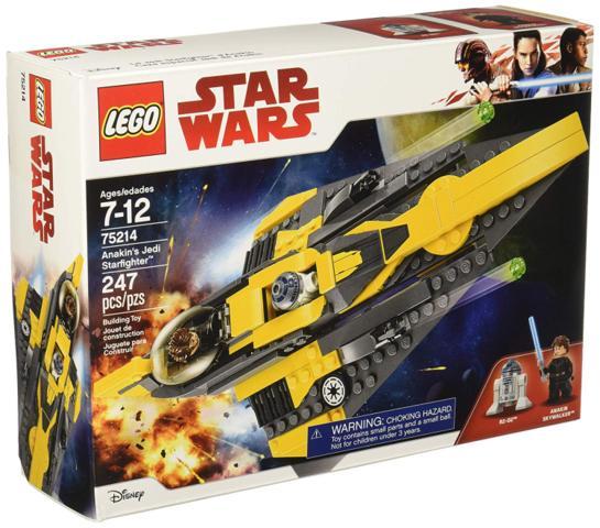 Anakins Jedi Starfighter - Star Wars (LEGO) 75214