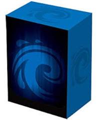 Blue Iconic Leaf - Deck Box (Legion)
