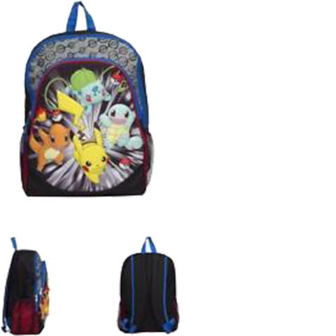 Pokemon 3D (Backpack) - Apparel » Backpacks - Wii Play Games 2caacfc5bb