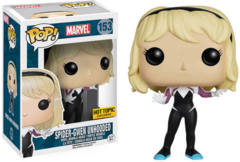 #153 Spider-Gwen Unhooded (Marvel) Hot Topic Exclusive