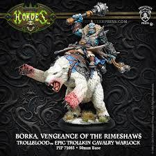 Trollbloods Borka, Vengeance of the Rimeshaws
