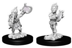Pathfinder Battles Unpainted Minis - Gnome Male Bard