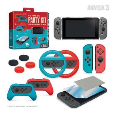 (Hyperkin) Party Kit for Switch 15 pieces