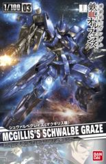 1/100 IBO - Gundam Iron-Blooded Orphans - Schwalbe Graze McGillis Custom Type