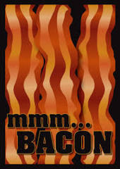 Bacon - (Legion) Standard Sleeves - 50ct