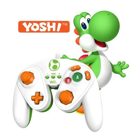Yoshi Wired Fight Pad Wii (PDP)