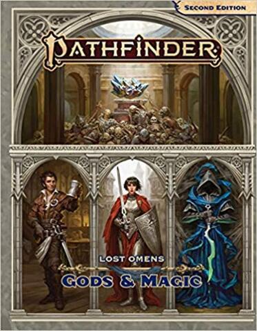 Pathfinder -  Lost Omens Gods & Magic (P2) 2nd Edition