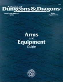 Dungeons & Dragons RPG - Arms and Equipment Guide (2nd Edition)