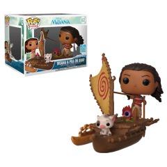 #62 - Moana & Pua On Boat (Moana)