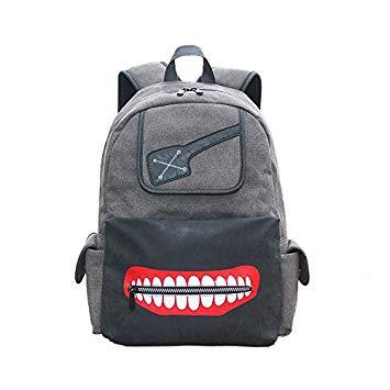 Grey - Kaneki - Tokyo Ghoul (Backpack) - Apparel » Backpacks - Wii ... cd59eb8a28