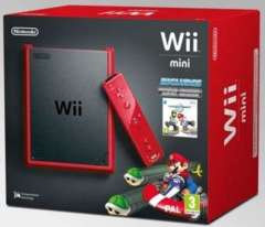 Wii Mini Bundle With Mario Kart