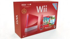 Nintendo Wii 25th Anniversary Edition Bundle Red - 2 Games New Super Mario Bros. & Wii Sports