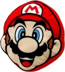 Mario Head Pillow (Super Mario Bros.)