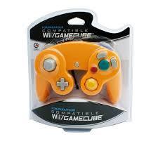 Cirka Orange Wii/Gamecube Controller - Wired