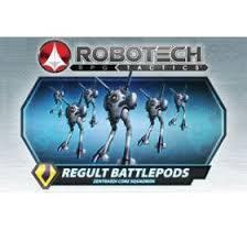 Robotech RPG Tactics Regult Battlepods Zentraedi Core Squadron