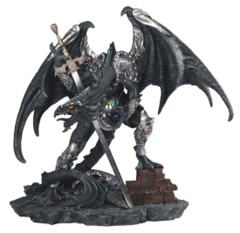 Black Dragon + Sword 21in. - 71850