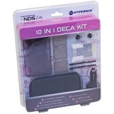 (Hyperkin) 10 in 1 Deca Kit for DS Lite - Black
