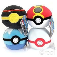 Pokemon - Plush Poke Ball (Various)