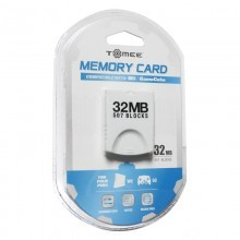 Wii / GameCube 32MB Memory Card (Wii)