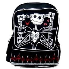 Black - Nightmare Before Christmas (Backpack)