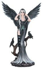 Dark Angel Fairy - 2 Crows 24 in. - 91980
