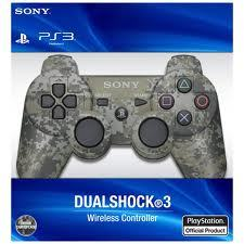 PlayStation 3 (PS3) Controller in Camoflage Wireless DualShock 3