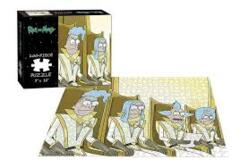 Rick and Morty: Council of Ricks 200pc Puzzle (9x11)