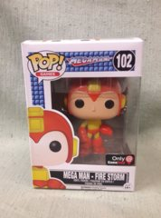 #102 - Mega Man - Fire Storm (MegaMan) Gamestop Exclusive