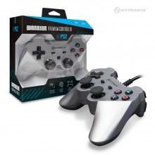 """PS2 """"Warrior"""" Premium Controller (Silver)"""