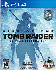 Rise of the Tomb Raider 20 Year Celebration (Playstation 4)