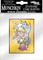 Flower - Munchkin - (Game Plus) Standard Card Sleeves -  50ct