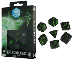 Ingress (Q-Workshop) - 7 Enlightened Dice Set