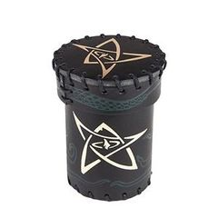 Dice Cup Cthulhu Black