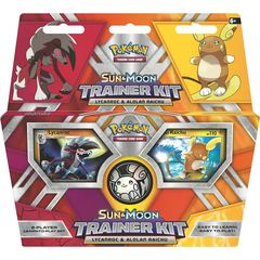 Pokemon TCG: Sun & Moon Trainer Kit - Lycanroc & Alolan Raichu