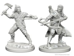 Human Male Ranger - Dungeons & Dragons (Nolzur's Marvelous Miniatures) - Unpainted