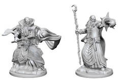 Human Male Wizard - Dungeons & Dragons (Nolzur's Marvelous Miniatures) - Unpainted - 72618