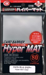 Hyper Mat Silver - Standard Sleeves (KMC) - 80ct