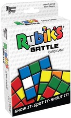 Rubik's Battle Card Game