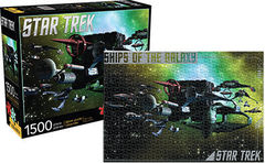 Star Trek: Ships of the Galaxy - 1500 Piece Puzzle