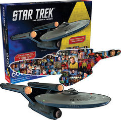 Star Trek - 2 Sided Die Cut 600 Piece Puzzle