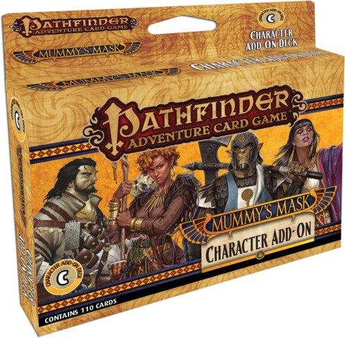 Pathfinder Adventure (Card Game) - Mummys Mask Character Add On