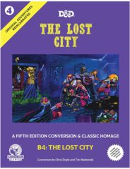Dungeons & Dragons RPG - Vol. 4 Original Adventures Reincarnated - The Lost City (5th Edition)