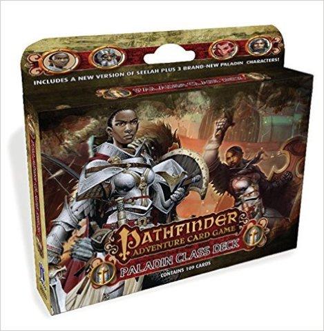 Pathfinder Adventure (Card Game) - Paladin Class Deck